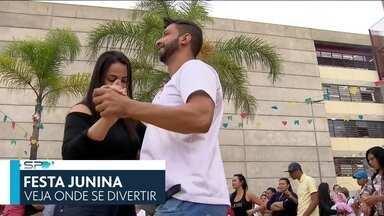 SP2 - Edição de sábado, 08/06/2019 - Diversas festas juninas tomam conta da capital. A expectativa para a estreia do Brasil no Mundial feminino. E mais as notícias do dia.