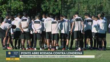 Ponte Preta enfrenta o Londrina pela Série B - Time de Campinas precisa de vitória para voltar ao G4.
