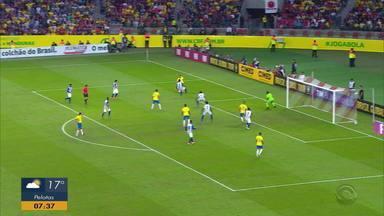 Brasil tem maior goleada da era Tite com 7 a 0 contra o Honduras - Partida foi último teste antes da Copa América.