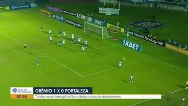 Grêmio vence o Fortaleza por 2 a 1 na oitava rodada do Brasileirão - Assista ao vídeo.