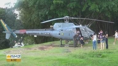 Marinha celebra Batalha Naval do Riachuelo com exposições e desfile de navios em Manaus - Programação especial aconteceu durante fim de semana, em diferentes pontos da cidade.