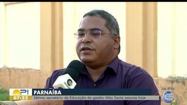 Prefeitura de Parnaíba contrata seu sétimo secretário de educação - Prefeitura de Parnaíba contrata seu sétimo secretário de educação