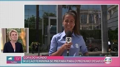 Seleção Feminina se prepara para o próximo desafio na Copa Feminina da França - Brasil mostrou a força contra a Jamaica e na próxima quinta enfrenta a seleção da Austrália