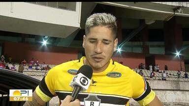 River-PI perde para o Bragantino-PA e é eliminado do Brasileirão - Série D - River-PI perde para o Bragantino-PA e é eliminado do Brasileirão - Série D