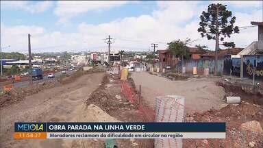 Empresa responsável pela obra da Linha Verde no Bacacheri aponta problemas no projeto - Prefeitura discorda e cobra prazos do cronograma.