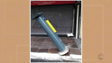 Parquímetros da área azul são depredados em Porto Alegre - Em 38 dias, 466 equipamentos precisaram ser concertados.