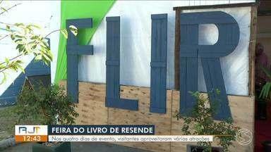 Último dia da Flir movimenta fim de semana em Resende - Nesta edição, feira trabalhou diversidade cultural.