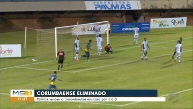 Corumbaense dá adeus ao Campeonato Brasileiro - Corumbaense dá adeus ao Campeonato Brasileiro