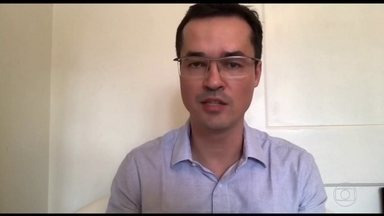 Coordenador da Lava Jato em Curitiba publica vídeo defendendo operação - O procurador Deltan Dallagnol disse que a troca de mensagens entre o Ministério Público e o juiz é natural e normal e reiterou a imparcialidade da operação.