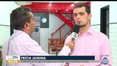 Prefeitura prorroga inscrições para edital de quadrilhas juninas - Prefeitura prorroga inscrições para edital de quadrilhas juninas