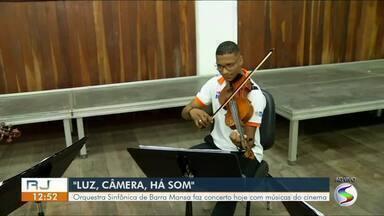 Orquestra Sinfônica de Barra Mansa se apresenta nesta terça com músicas do cinema - Apresentação é de graça e acontece no Espaço M Eventos.