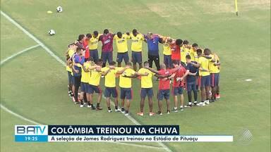 Copa América 2019: seleções da Argentina e da Colômbia fazem treino em Salvador - Equipes se enfrentam na Arena Fonte Nova, no próximo sábado (15).