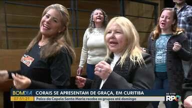 Corais se apresentam de graça, em Curitiba - undefined