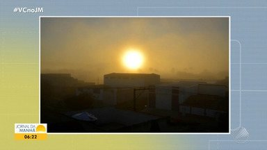 Confira a previsão do tempo desta quarta-feira (12); veja também as fotos do amanhecer - Saiba como fica o tempo no estado.