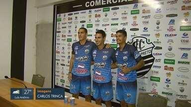 Comercial-SP apresenta três reforços para a Copa Paulista 2019 - Jogadores comentam os desafios no campeonato.