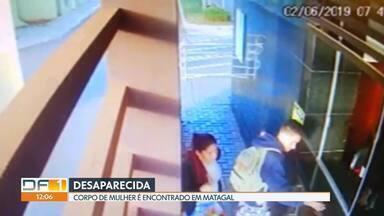Corpo de mulher é encontrado no Paranoá - Ela estava desaparecida há dez dias e o corpo foi encontrado em um matagal.
