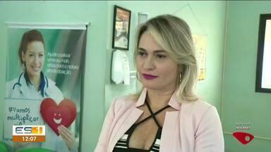 Hemocentro de Linhares, no ES, faz ação para alertar sobre importância da doação de sangue - Diretora do Hemocentro falou sobre o assunto.
