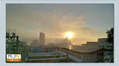 Sexta-feira será de tempo firme no Sul do Rio - Noite volta a esfriar na região.