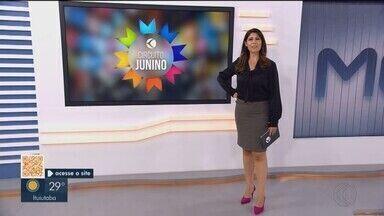 Circuito Junino da TV Integração: confira a programação do fim de semana em Uberlândia - Na programação tem arraial de Santo Antônio, Festa Junina da Ação Moradia e Arriá do Santuário e outras festas.