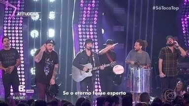 Atitude 67 canta '8 Segundos' - Banda está no ranking artista rádio samba