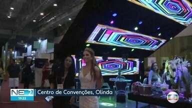 Feira em Olinda apresenta novidades no ramo de festas de casamento - Evento acontece no Centro de Convenções de Pernambuco, em Olinda.