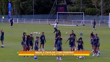 Sem Formiga, seleção brasileira faz as contas para jogo decisivo pela Copa do Mundo - Sem Formiga, seleção brasileira faz as contas para jogo decisivo pela Copa do Mundo