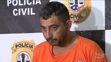 Principal suspeito de comandar chacina em Coelho Neto é apresentado em São Luís - Antônio Carlos Sobral da Rocha está preso desde a sexta-feira.