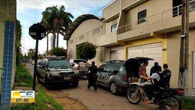 Homem é preso com explosivos na Região Norte - Material era usado por criminosos em ataques a banco.