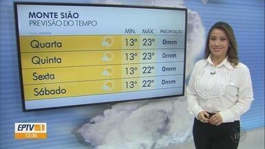 Confira a previsão do tempo para esta terça-feira (18) no Sul de Minas - Confira a previsão do tempo para esta terça-feira (18) no Sul de Minas