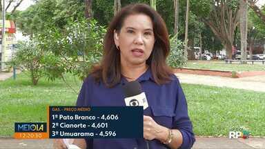 Após 6 semanas como a mais cara do PR, gasolina de Maringá recua - Agora, combustível de Maringá é o 4º mais caro.
