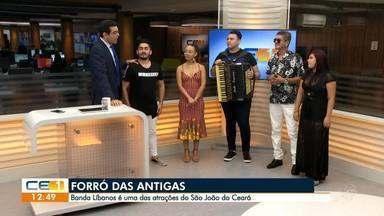 Banda Líbanos é uma das atrações do São João do Ceará - Confira mais notícias em g1.globo.com/ce