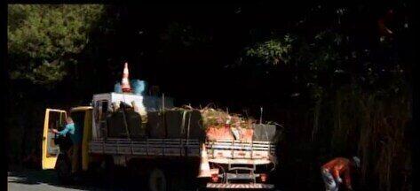 MG1 mostra que Prefeitura iniciou limpeza do mato na Avenida Autorama em Divinópolis - Reportagem mostrou reclamação de moradores. Na região do Bairro Catalão, boa parte do passeio já foi limpo e trabalho vai até o Bairro São Judas.
