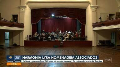 Hamornia Lyra homenageia associados - Hamornia Lyra homenageia associados