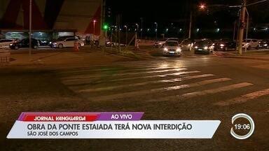São José tem alteração no trânsito para obra da ponte estaiada - Confira as informações no link.