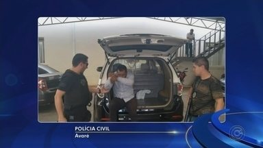 Suspeito de participar de assalto em casa de empresário em Itaí é preso - Um dos suspeitos de roubar a casa de um empresário, em Itaí (SP), foi preso nesta terça-feira (18), em Cotia (SP), pela Polícia Civil de Avaré (SP).