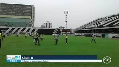 Central treina para partida de quinta-feira (20) no estado da Bahia - Time vai jogar contra o Jacuipense.