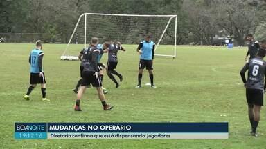 Diretoria do Operário confirma que está dispensando jogadores - Clube anunciou que vai contratar novos três atletas.