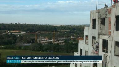 Setor hoteleiro em alta em Foz do Iguaçu - Construção de novos hotéis em Foz do Iguaçu vai gerar milhares de empregos na fronteira.