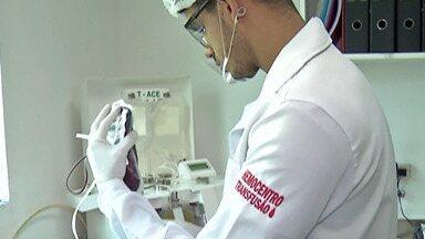 Hemocentro de Suzano participa da campnha Junho Vermelho - Campanha é feita para incentivar a doação de sangue. Número de doadores cai no período das férias