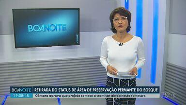 Projeto envolvendo o Bosque no centro de Londrina deve começar a tramitar - Intenção do projeto é cancelar o status de área de preservação permanente do Bosque.