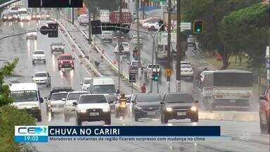 Chuva fez subir nível do canal Grangeiro no Crato - Confira mais notícias em g1.globo.com/ce