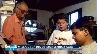 Missa de 7º dia de Monsenhor Ágio - Confira mais notícias em g1.globo.com/ce