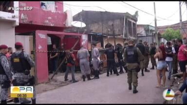 Um mês após a chacina no bairro do Guamá, centro de perícias apresenta simulação do crime - Veja como foi a ação dos bandidos.