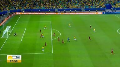 Futebol: Seleção feminina vence e masculina empata - Juscelino Filho comenta os destaques do Esporte.
