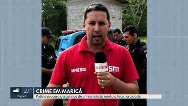 Jornalista é assassinado a tiros em Maricá - Segundo caso em menos de um mês