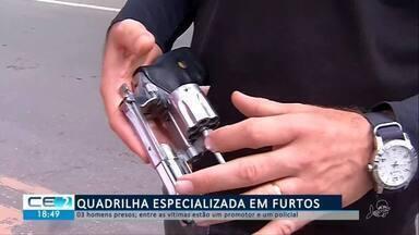 Quadrilha especializada em furtos é presa em Juazeiro do Norte - Confira mais notícias em g1.globo.com/ce