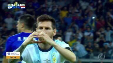 Argentina enfrente o Catar em Porto Alegre na Copa América - Assista ao vídeo.