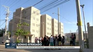 Famílias esperam pela entrega de apartamentos em Campo Grande há sete meses - A construtora deveria ter entregado as unidades habitacionais para 400 famílias em novembro de 2018.