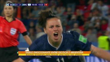 Argentina e Escócia fazem duelo emocionante e ainda brigam por vaga nas oitavas da Copa do Mundo feminina - Argentina e Escócia fazem duelo emocionante e ainda brigam por vaga nas oitavas da Copa do Mundo feminina