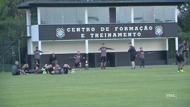 Figueirense se reapresenta após semana de folga - Figueirense se reapresenta após semana de folga